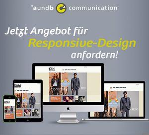 Angebot für Responsive-Design anfordern